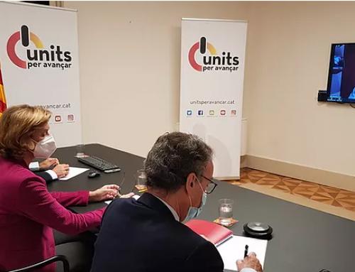 Units per Avançar planteja al PSC reeditar l'Aliança per concórrer junts a les eleccions al Parlament del 14 de febrer