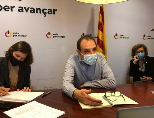 El Consell Nacional da luz verde a la renovación del acuerdo con el PSC y designa Ramon Espadaler para encabezar la candidatura de Units per Avançar